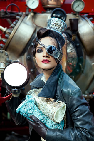 Steampunk Elegance by Ali Fateh, Latest Bags Designs by Ali Fateh
