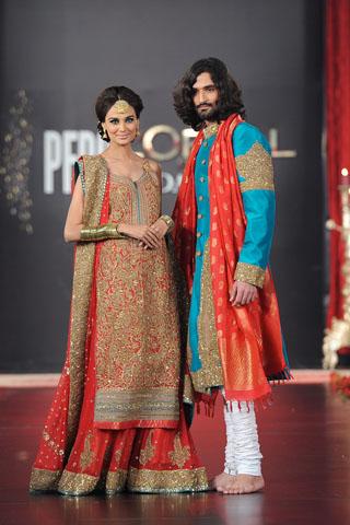 Umar Sayeed Collection at PFDC L'Oreal Paris Bridal Week 2011 - Day 4
