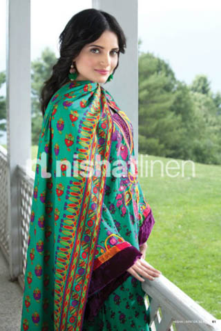 Winter Collection 2011 by Nishat Linen, Nishat Linen Winter Collection