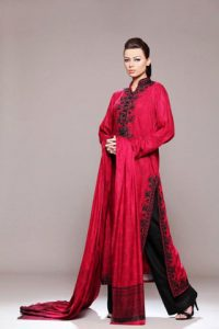 Winter Linen Collection 2012 by Mahin Erum, Winter Collection by Mahin Erum