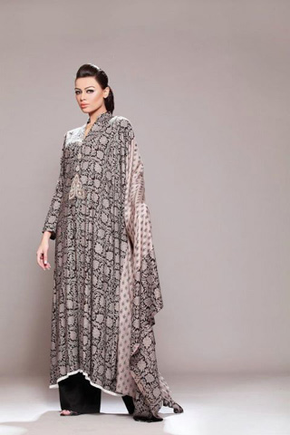 Winter Linen Collection 2012 by Mahin Erum