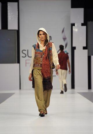 Yahsir Waheed at PFDC Sunsilk Fashion Week 2012 Karachi Day 3