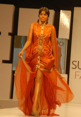 Zaheer Abbas Collection at PFDC Sunsilk Fashion Week S/S 2012 Day 1 - Act 1
