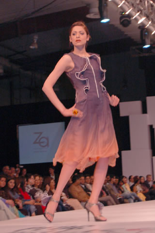 Zonia Anwaar Collection at PFDC Sunsilk Fashion Week S/S 2012 Day 1 - Act 1