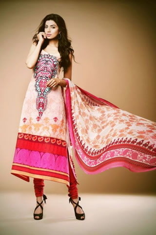 Kuki Concepts Lawn Collection 2013 by Dawood Textile, Kuki Concepts Lawn