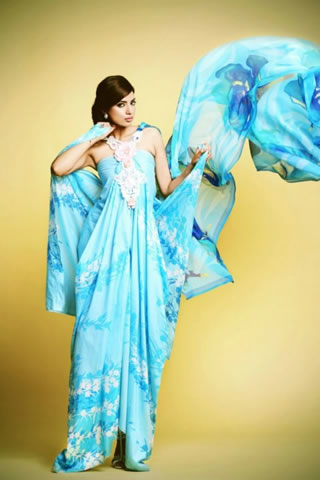 2013 Lawn Dresses by Kuki Concepts