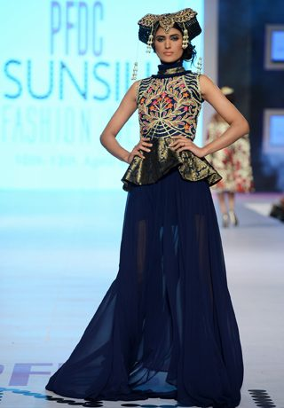 Akif Mahmood Collection at PFDC Sunsilk Fashion Week 2014 Day 4
