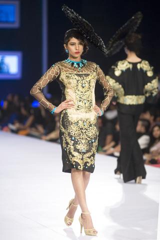 Ali Xeeshan Collection at PFDC Sunsilk Fashion Week 2014 Day 1