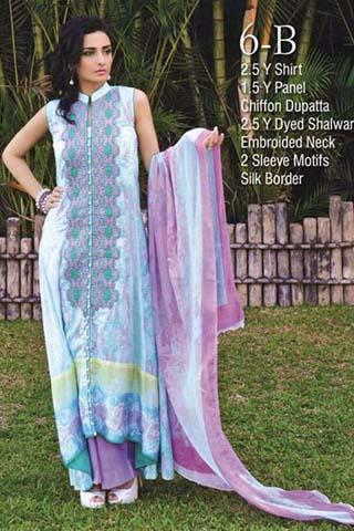 Ayesha Somaya Spring/Summer Lawn Collection 2014