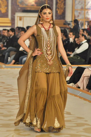 Bina Sultan Collection at Pantene Bridal Couture Week 2013 Day 2