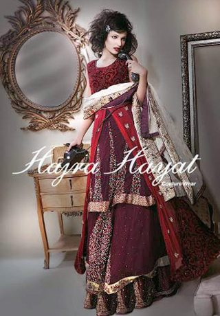 Bridal Dresses 2013 by Hajra Hayat,Pakistani Bridal Dresses 2013 by Hajra Hayat