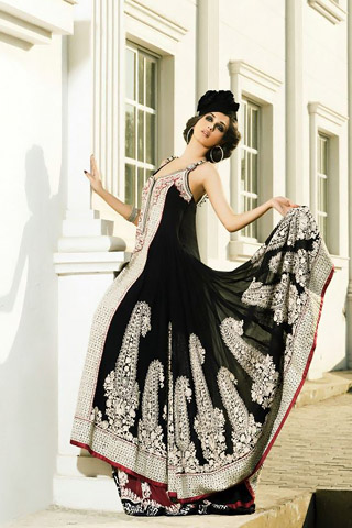 Ebony & Ivory Collection 2013 by Umar Sayeed, Latest Collection 2013 by Umar Sayeed