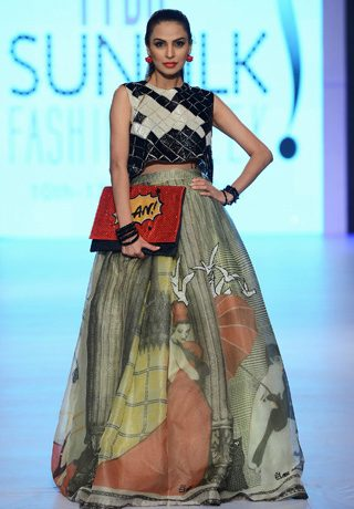 Elan Collection at PFDC Sunsilk Fashion Week 2014 Day 2