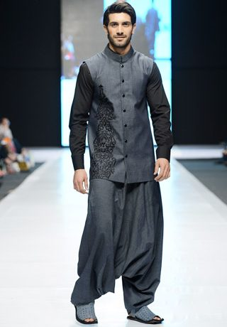 Emraan Rajput Collection at Fashion Pakistan Week 2013 Day 1 Karachi
