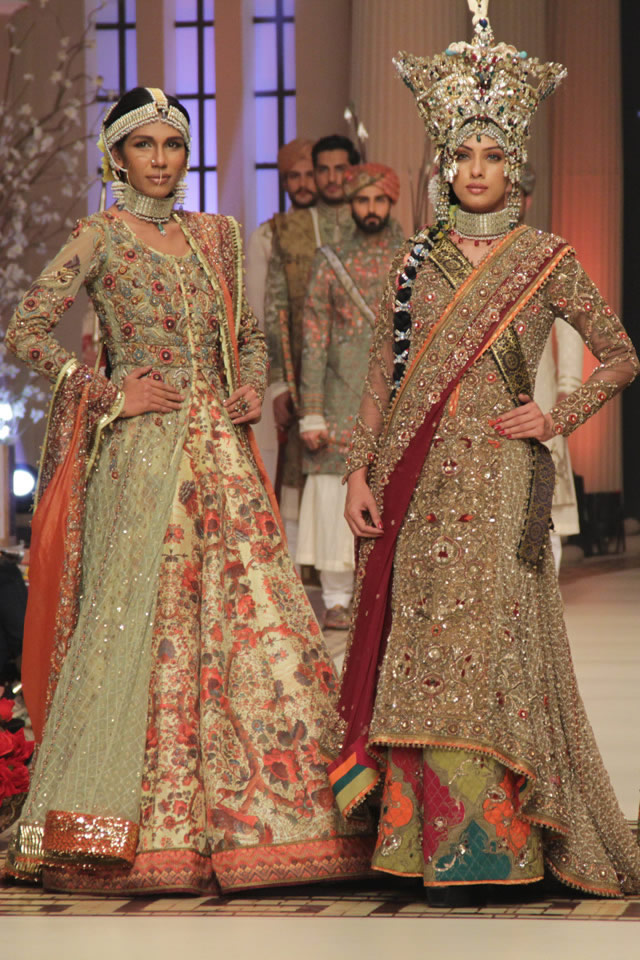 2014 Nautanki Rani Fahad Hussayn Collection