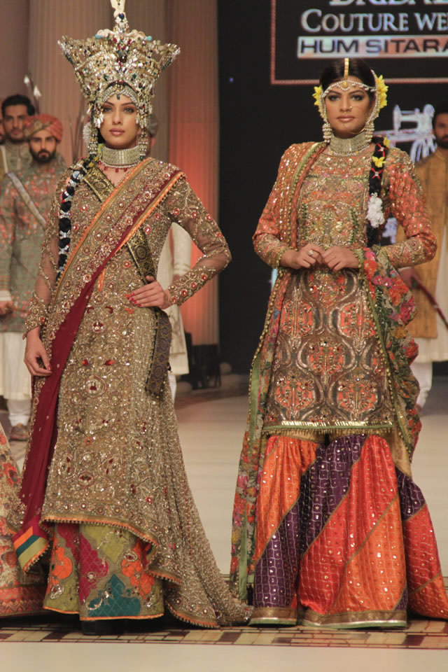 Bridal Nautanki Rani Fahad Hussayn Latest Collection