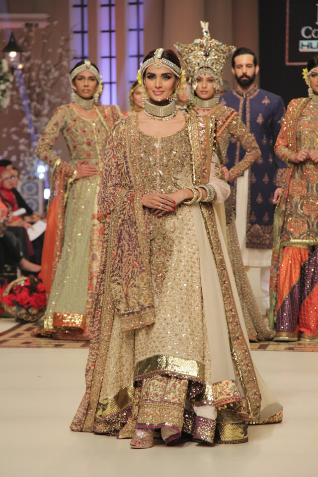 Nautanki Rani Fahad Hussayn Bridal Collection