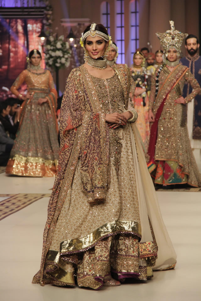 2014 Latest Fahad Hussayn Bridal Collection