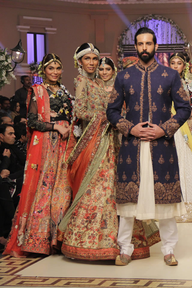 Bridal Latest Fahad Hussayn Nautanki Rani Collection