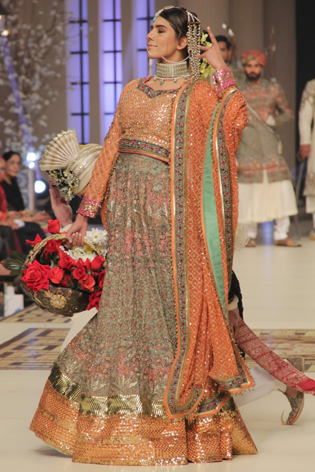 Bridal Fahad Hussayn Nautanki Rani Collection