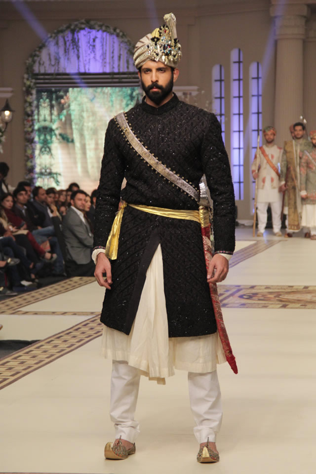 Bridal Fahad Hussayn 2014 Nautanki Rani Collection