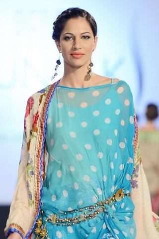 Faiza Samee Collection at PFDC SFW 2013