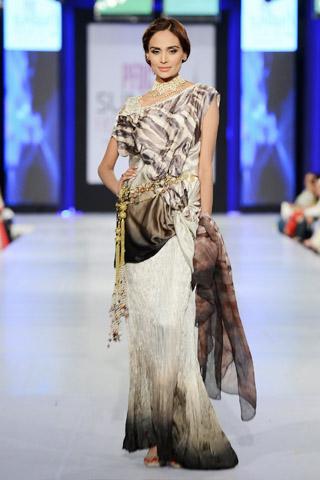Faiza Samee Collection at PFDC Sunsilk Fashion Week 2013 Day 4