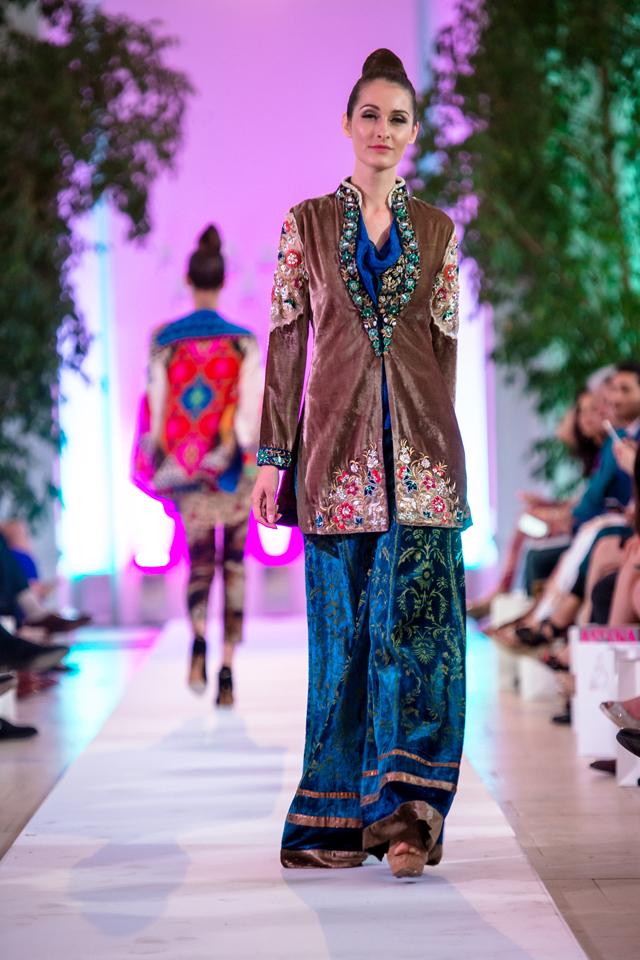 London 2014 Faiza Samee Fashion Parade Collection