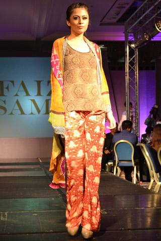 Faiza Samee London Fashion Week Collection 2013