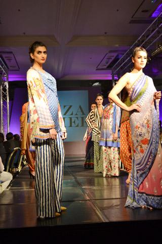 Faiza Samee collection in London 2013