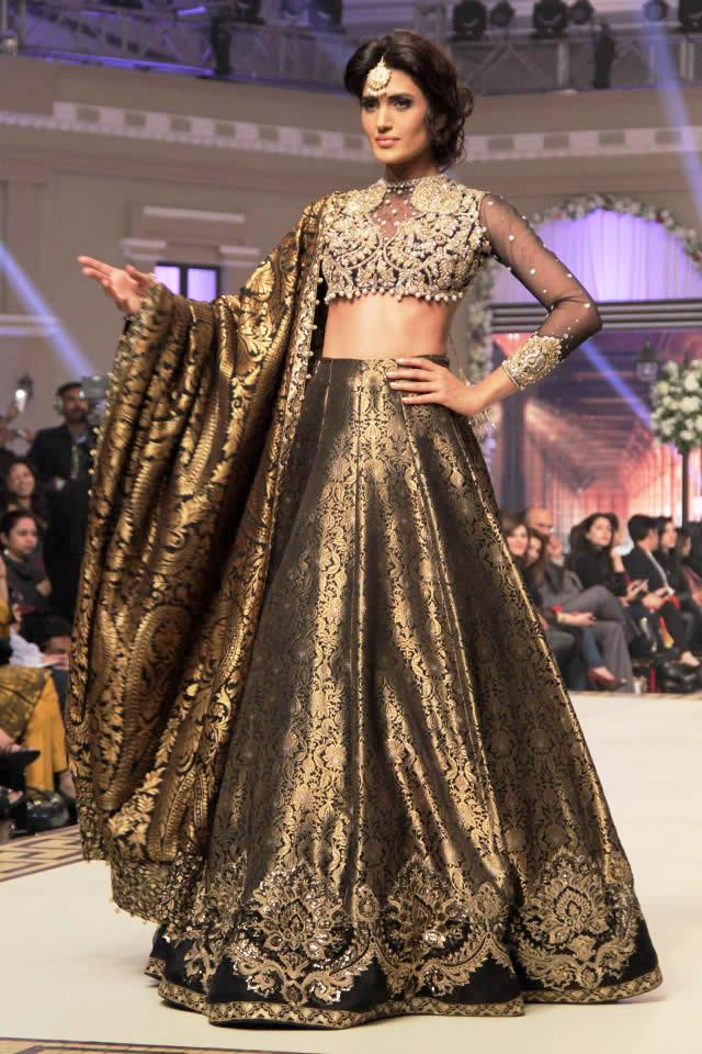 Faraz Manan Bridal Collection at TBCW 2014