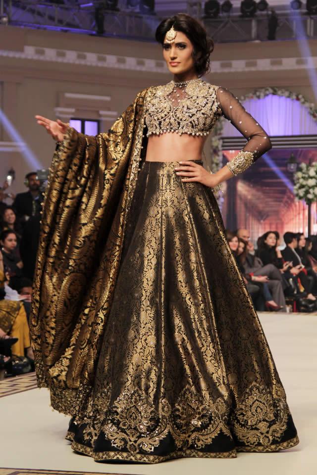 1536328973 Faraz Manan Bridal Collection at TBCW 2014