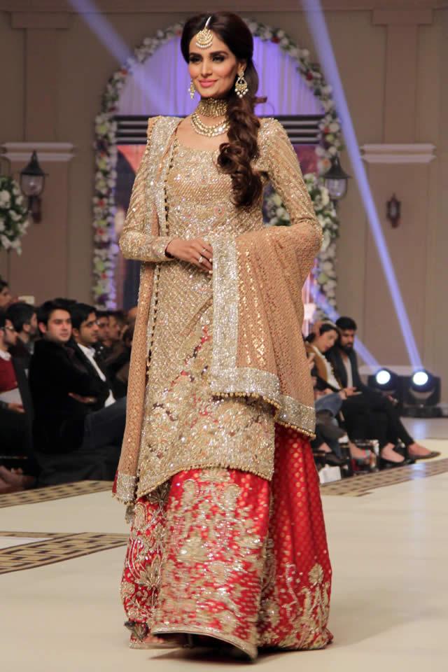 2014 Latest Faraz Manan Bridal Collection TBCW