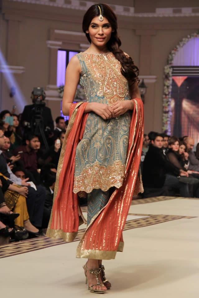 Faraz Manan 2014 Bridal Collection TBCW