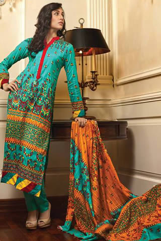 Firdous Collection for Fall 2013