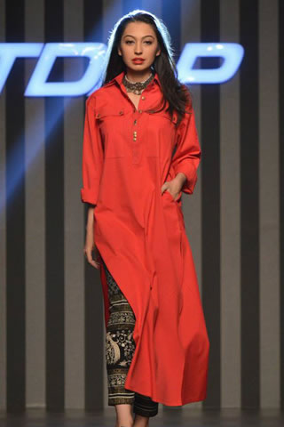 """FnkAsia """"Merchants Of Spice"""" Collection at TDAP Fashion Show 2013"""