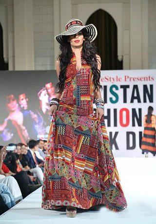 Gul Ahmed Collection at Pakistan Fashion Week Dubai 2014