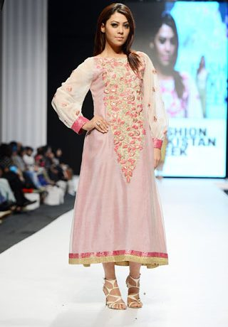 Hajra Hayat Collection at Fashion Pakistan Week 2013 Day 2