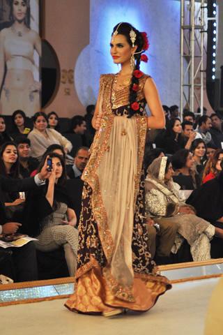 Hajra Hayat Collection at Pantene Bridal Couture Week 2013 Day 1