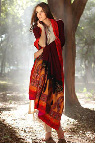 House of Zunn Shawl Collection 2013 by LSM, Shawl Collection