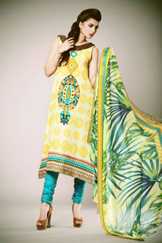 Kuki Concepts Lawn 2013 by Dawood Textiles