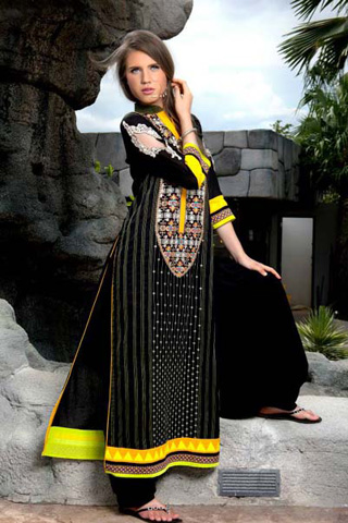 Lakhany Silk Mills Latest Kurti Collection 2013, LSM Kurti Collection