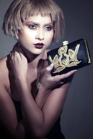 Latest Clutches Collection 2012 by Mahin Hussain Accessories