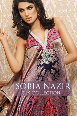 Latest Winter Collection 2012 by Sobia Nazir, Winter Collection 2012