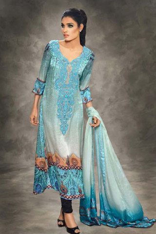 Latest Winter Collection 2012 by Sobia Nazir