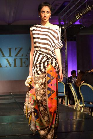 London Fashion Collection 2013 by Faiza Samee