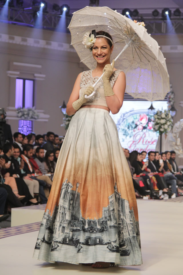 Maria B. Telenor Bridal Couture Week 2014 Collection