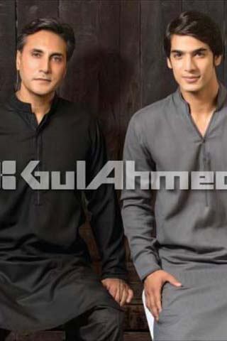 Men's Kurta Shalwar Collection 2012 by Gul Ahmed, Men's Collection 2012