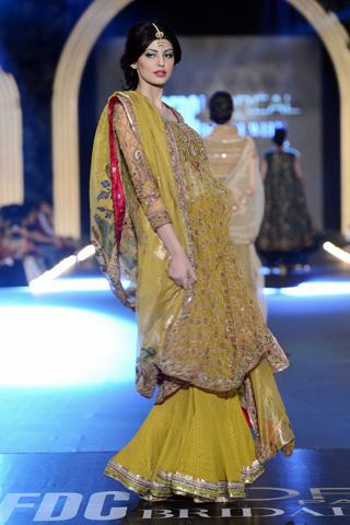 Misha Lakhani Collection at PFDC L'Oreal Paris Bridal Week 2013 Day 2