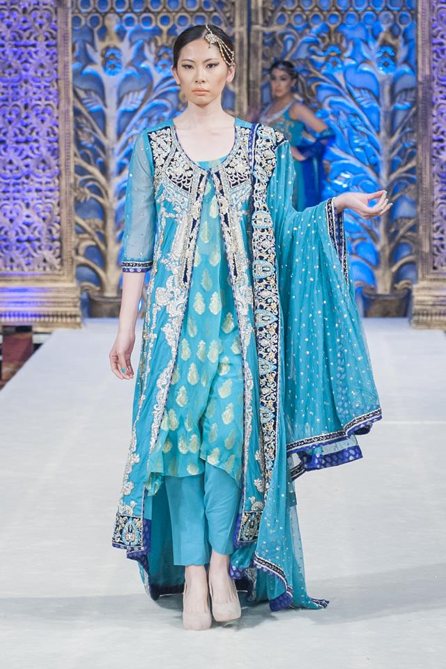 e0192795812f Mona Imran Bridal Collection at PFWL 14